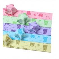 Lovely Bear Pattern 520 Sheets Craft Lucky Star Folding Paper