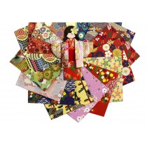 12.8x12.8 cm Japanese Style Folding Origami Papers for Kids & Adults 144 Pieces