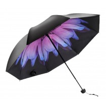 Travel Lightweight Anti-UV Parasol Rain Umbrella