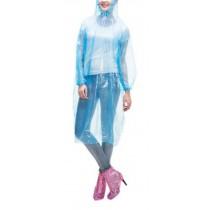 Poncho Raincoat Disposable Rain Ponchos/Set Of 2