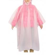 Disposable Rain Ponchos Boy And Girl Raincoat/Set Of 3