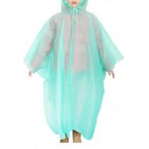 Disposable Rain Ponchos Children's Raincoats/Set Of 2