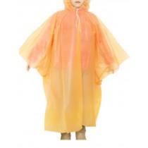 Children's Raincoats, Disposable Rain Ponchos/Set Of 2