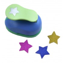 Paper Craft Punch Card Scrapbooking Star Hole Puncher