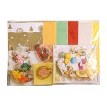 Handmade DIY Greeting Cards Set Creative New Year Cards Kit