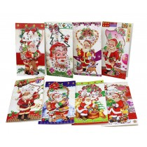 8 Assorted Colorful Christmas Greeting Cards Christmas Card