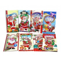 Christmas Greeting Cards Set of 8 Holiday Card Pack