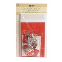 Kraft Handmade Cards Kit Include 6 Cards and 6 Envelopes