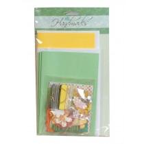 Set of 6 Cards and 6 Envelopes DIY Greeting Cards Kit