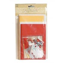 Handmade Greeting Wish Cards DIY Kit Set