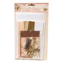 DIY Handmade Kraft Greeting Cards Kit
