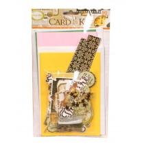 DIY Handmade Greeting Card Kit Includes A Varirty of Embellishments