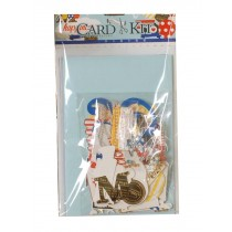 Include 6 Cards and 6 Envelopes DIY Card Kit with Embellishments