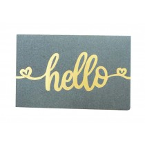 Set of 5 [Hello] Simple Style Greeting Card for Birthday/Festival