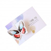 Pretty Butterfly Thankful Greeting Cards Set of 5
