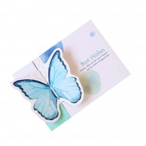 Set of 5 Birthday/Festival Greeting Cards Butterfly Cards