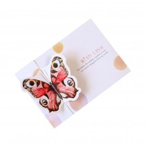 Set of 5 Lovely Butterfly Greeting Cards for all Occassions