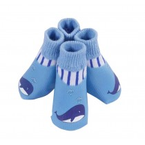 Blue Cat/Dogs Socks Anti Slips Shoes for Pets