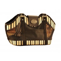Dog Bag Convenient Travel Pet Carrier Bag - Stripe