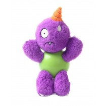 Creative Purple Dog Chew Toys Plush and Rubber