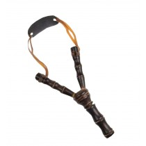 Natural Wood Boy Outdoor Playing Toy Sport Boy Slingshot