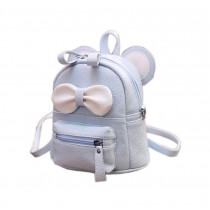 Cute Toddler Backpack Kindergarten Bag Travel Kids Backpacks Purse Bowknot Blue