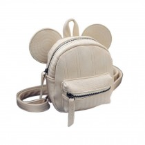 Retro Beige Ear Toddler Backpack Kindergarten Bag Travel Kids Backpacks Purse