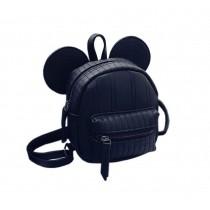 Retro Black Ear Toddler Backpack Kindergarten Bag Travel Kids Backpacks Purse