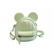 Retro Green Ear Toddler Backpack Kindergarten Bag Travel Kids Backpacks Purse