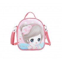 Children School Bag Cute Travel Shoulder Bag Kids Backpack Purses Pink Princess