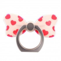 Creative Bow Shape  Ring Phone Holder/Stand For Most of Smartphones, No.1