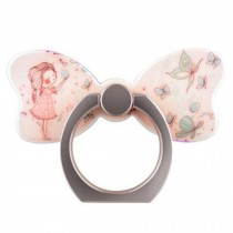 Creative Bow Shape  Ring Phone Holder/Stand For Most of Smartphones, No.3