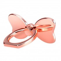 Creative Bow Shape  Ring Phone Holder/Stand For Most of Smartphones, Pink