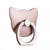 Cute Cat Shape  Ring Phone Holder/Stand For Most of Smartphones, Pink