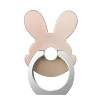 Lovely Rabbit Shape  Ring Phone Holder/Stand For Most of Smartphones, Gold