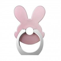Lovely Rabbit Shape  Ring Phone Holder/Stand For Most of Smartphones, Pink