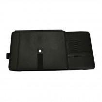 Luxury PU Multi-function CD/DVD Car Visor Organizer Holder Case(Black)