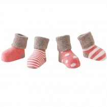 5 Pairs of Cozy Baby Products  Unisex Durable Baby Cotton Socks,  1-3 years