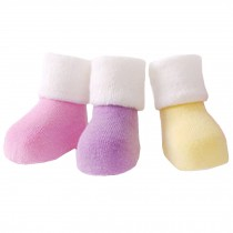 5 Pairs of Cozy Soft Kids Products  Comfortable Wear Unisex  Durable Baby  Cotton  Socks,  1-3 years