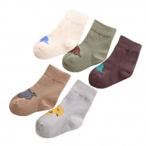 5 Pairs of Cozy Soft Kids Products Comfortable Wear Unisex Durable Cotton Socks,dinosaur??2-3 years