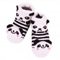 2 Pairs of Cozy  Baby Cotton Socks Baby Gifts Comfortable Socks Heartwarming Baby Gifts, panda