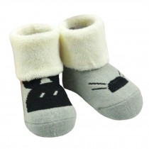 2 Pairs of Cozy BabyCotton Socks Baby GiftsComfortable Socks Heartwarming Baby Gifts,0-1years??mouse