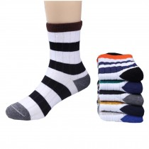 5 Pairs of Cozy kids Cotton Socks Children ?? 5-6years??Gifts Comfortable Socks,stripe??