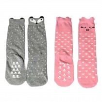 2 Pair Cute Baby's Cotton Tube Stockings Anti-mosquito Summer Thin Socks-No.6