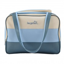 Colorful Big Capacity Functional Diaper Bags For Mummy Blue (30*39*21cm)