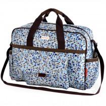 Colorful Big Capacity Functional Diaper Bags??Blue (43*16*33cm)