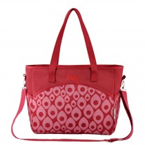 Fashion Big Capacity Functional Diaper Bags??Red (36*15*30cm)