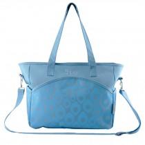 Fashion Big Capacity Functional Diaper Bags??Blue (36*15*30cm)
