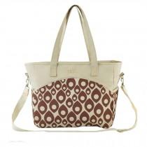 Fashion Big Capacity Functional Diaper Bags??Creamy White (36*15*30cm)