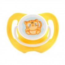 Lovely Cartoon Free Nighttime Infant Pacifier, Cute Tiger,Yellow